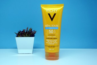 Resenha: Protetor Solar Idéal Soleil Hydrasoft FPS 50 da Vichy