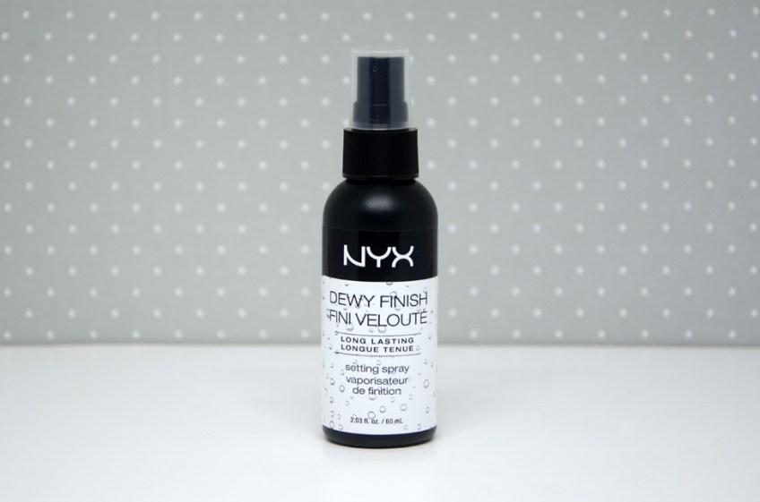 Resenha: Fixador de maquiagem Dewy Finish Fini Velouté Nyx
