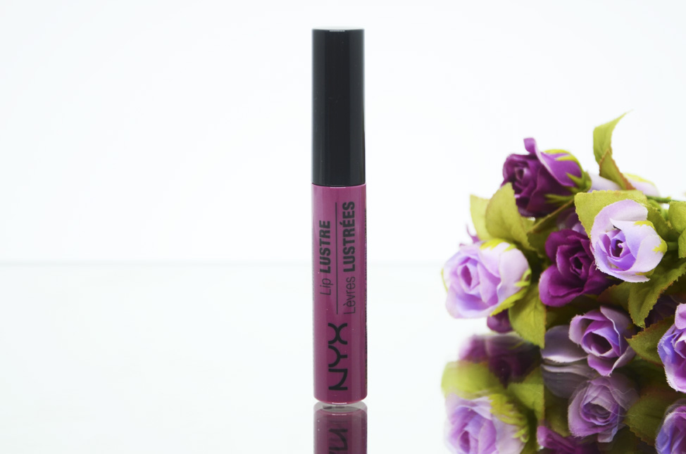 Resenha: Gloss Nyx Lip Lustre Antique Romance