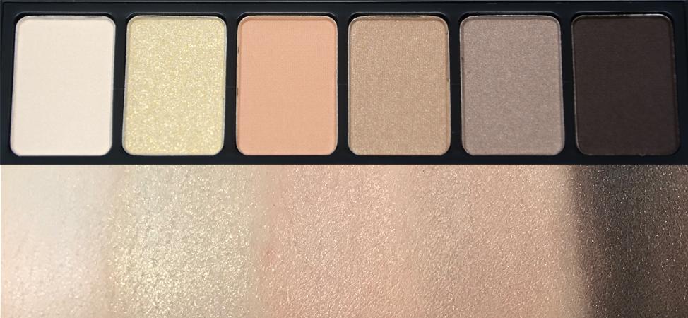 Paleta de sombras Nyx Natural