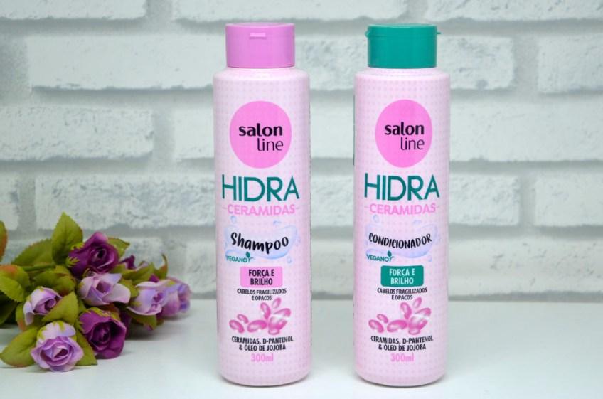 Resenha: Shampoo e Condicionador Hidra Ceramidas da Salon Line