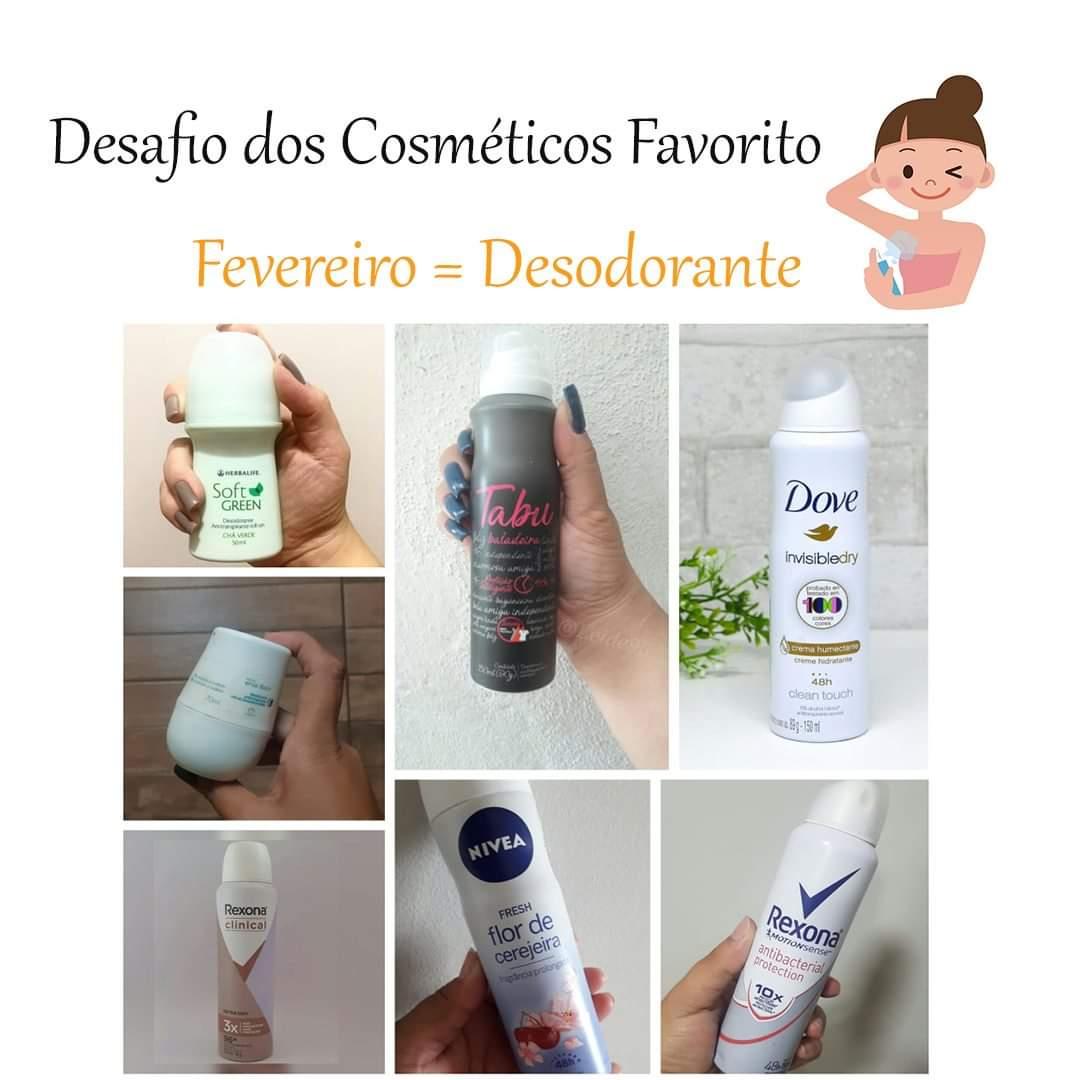 Desafio Cosmético Favorito : Desodorante