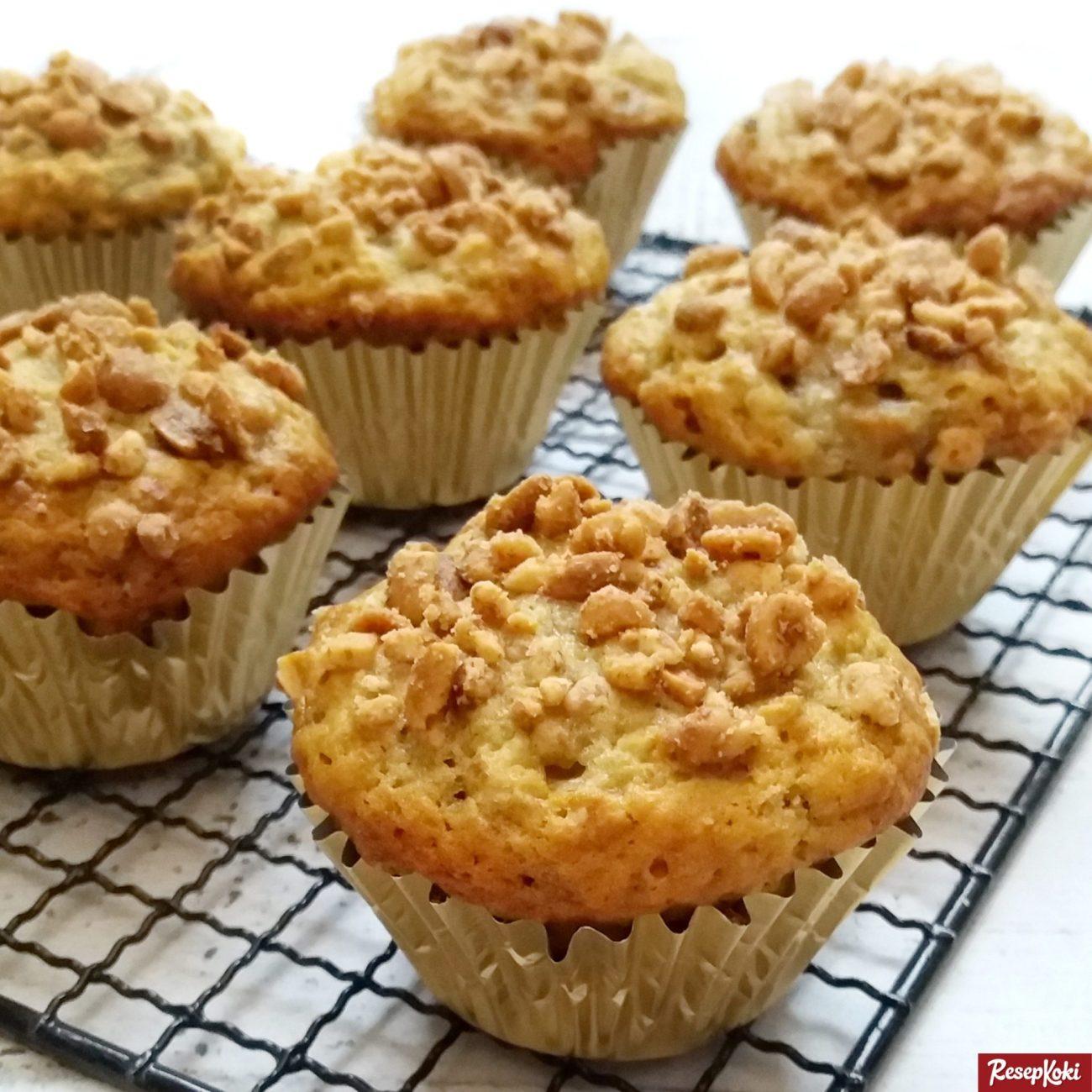 Muffin pisang lembut