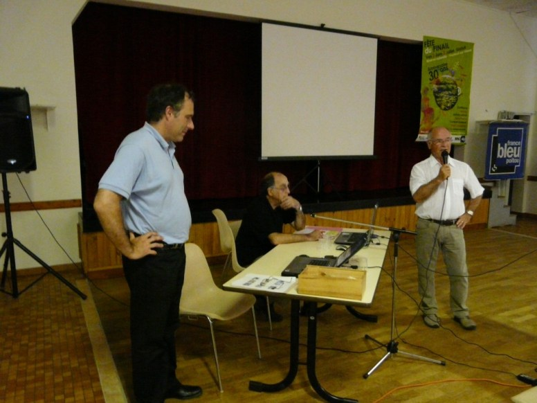 Alain Belmont, Yves Baron et Yves Texier