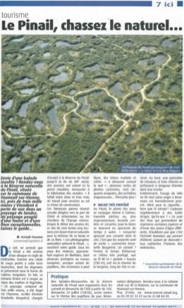 Le Pinail, chassez le naturel, 7 à Poitiers juillet
