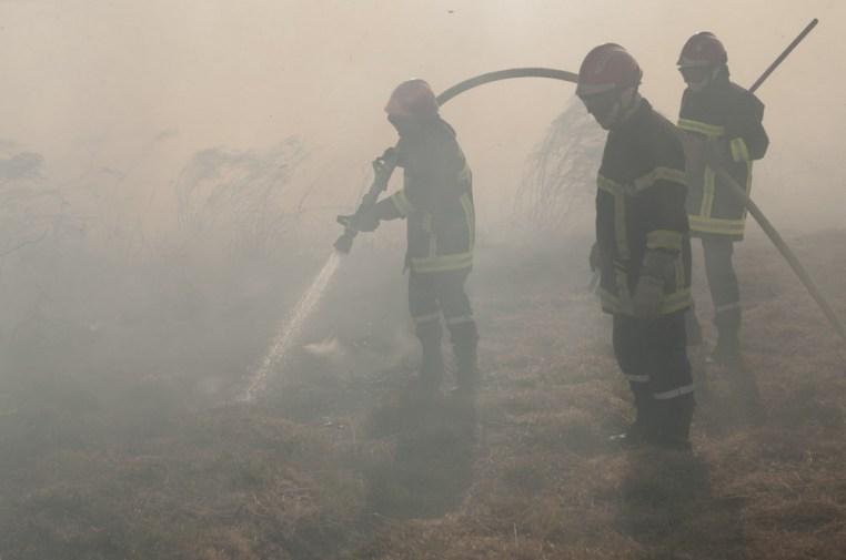 Sécurisation du secteur après le chantier par les pompiers de la Vienne © Jean-Guy Couteau
