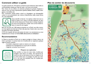 Double page présentation du guide