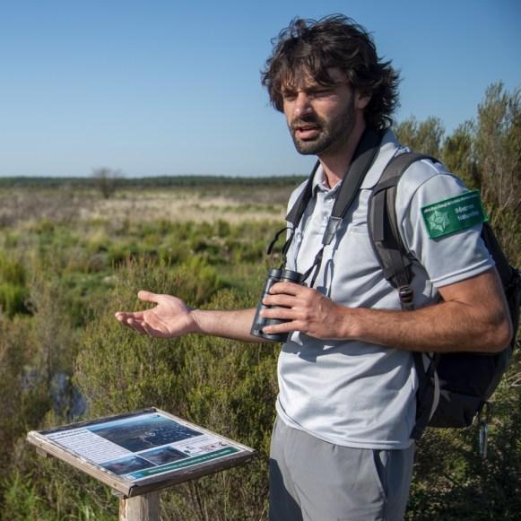 Kevin Lelarge et Yann Sellier, Conservateur et chargé de mission sur la Réserve naturelle nationale du Pinail. Sur le terrain de la RN en 2020. Photos Jean-Guy Couteau