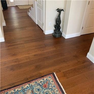 7 1 2 X 1 2 European French Oak Cordoba Wood Floors Priced Cheap   French Oak Stair Treads   White Oak Flooring   Ponte Vedra   Railway Sleepers   Stair Nose   Wide Plank Flooring
