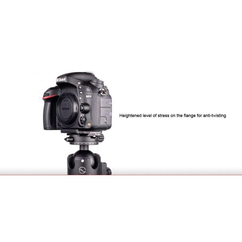 Sunwayfoto PN-D600 piastra per Nikon D600
