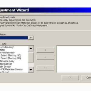 Reset iNKjET,All Epson Adjustment Program, Service Program,Service