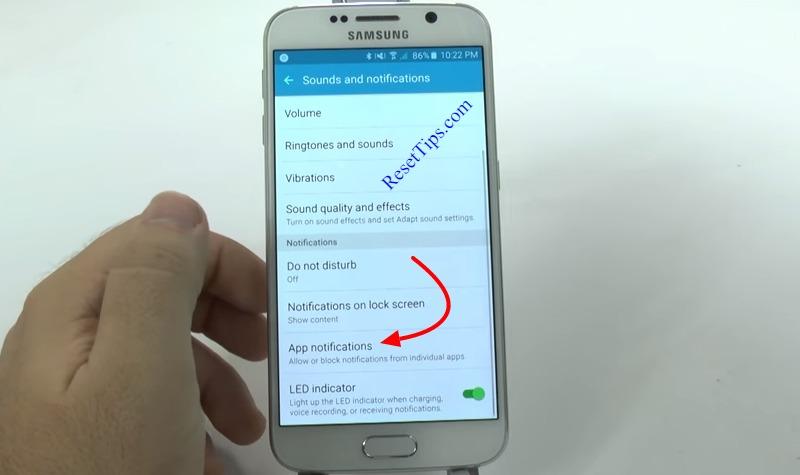 hard reset Galaxy S6 - hidden feature-16