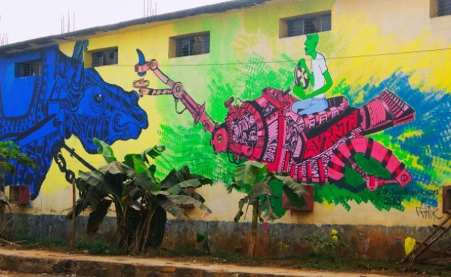 28 Super Street Art Pieces And Graffiti In India Which