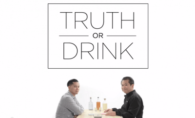 Father and son play 'Truth or Drink'; you would never