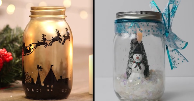 Adorable Mason Jar Luminaries That Will Light Up Your Home