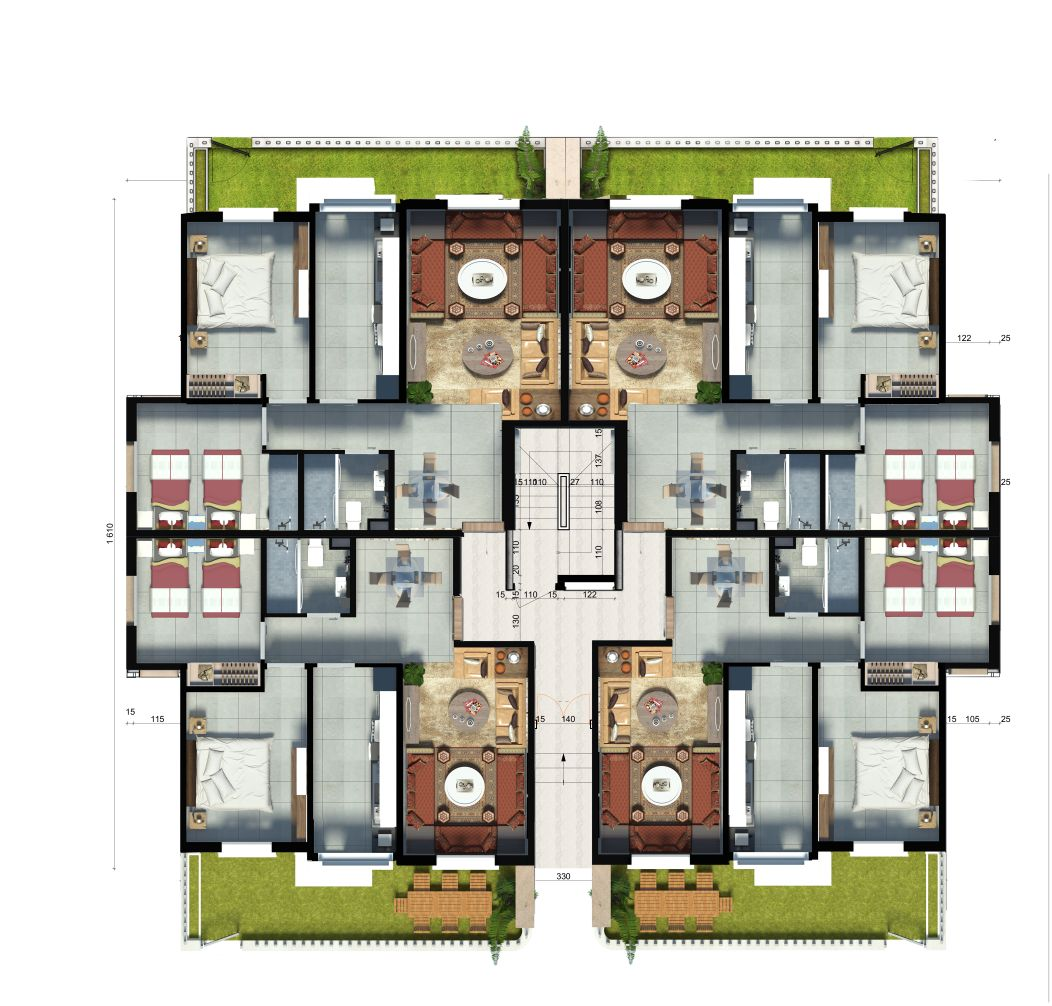 Appartement a vendre  Marrakech  Residence Al imane