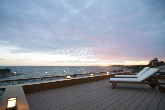 Primosten Kroatien Luxus Villa May mieten mit Privatstrand  ResidenceRoyale
