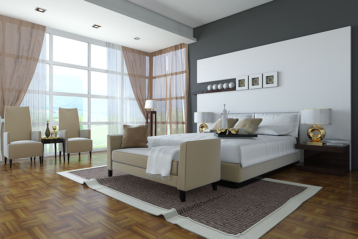 Redesigning The Bedroom With A Personal Theme