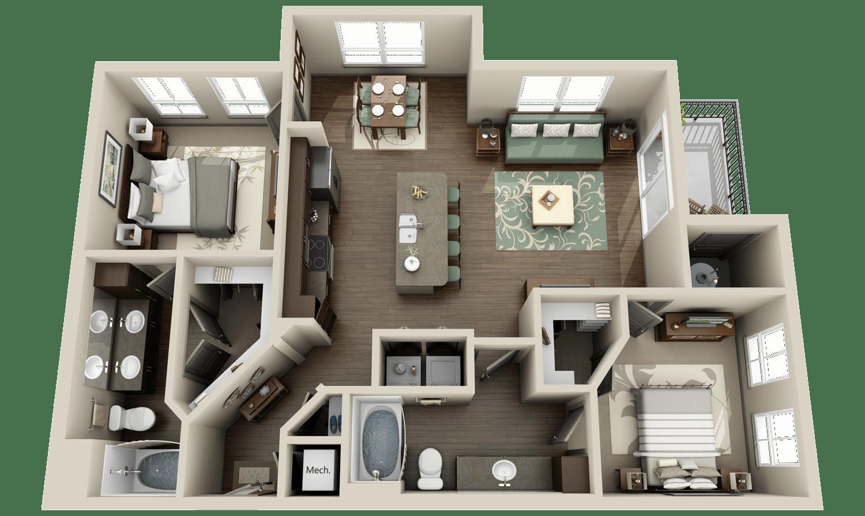 Best 3D Floor Plans for Apartments  Virtual Tours  We