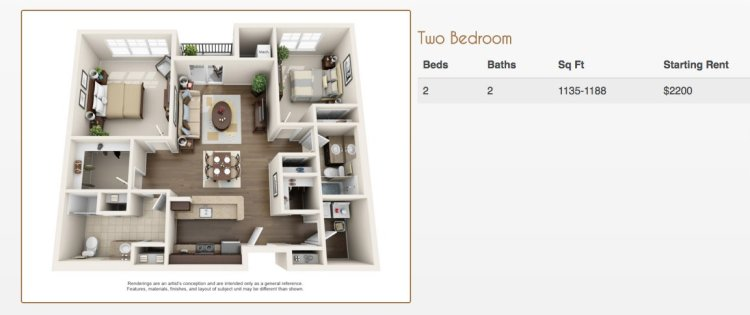 3D Floor Plans Apartments - Marketing  Ideas
