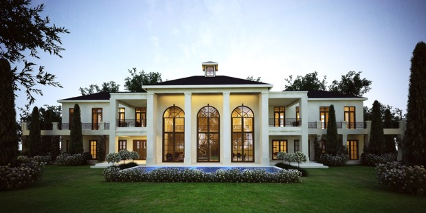 FRENCH STYLE RESIDENTIAL HOUSE ARCHITECT FIRM IN CAPE TOWN SOUTH