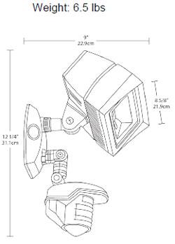 Led Flood Light With Motion Sensor, Led, Free Engine Image