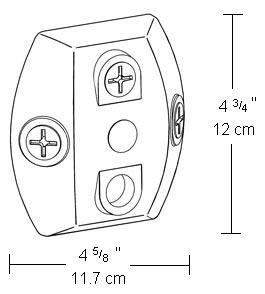Mount Plate for Motion Sensor and Lights