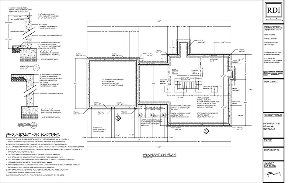 Raft foundation design pdf for How to read a foundation plan