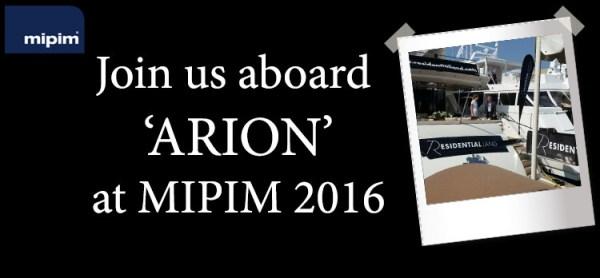 Residential Land at MIPIM 2016