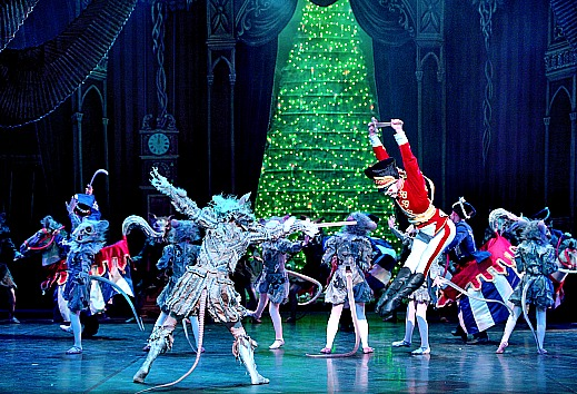 This world-class performance of the Nutcracker is a must-see if you're renting central London property during the festive season