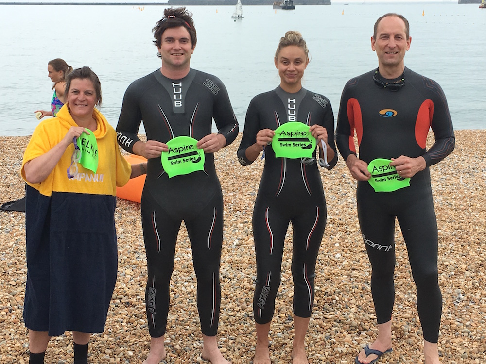Residential Land heroes swim the Solent for charity