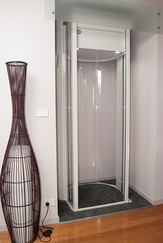 Mirage Single Entrance Lift  The Residential Lift Company