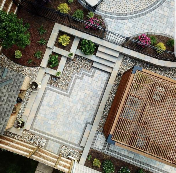 how to build knock out decks patios