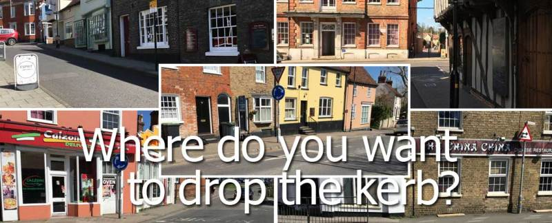 Banner: Drop the Kerb