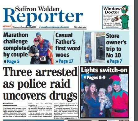 saffron-walden-reporter-8-dec-2016-front-page