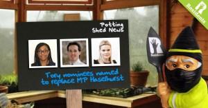 Saffron Walden Tory MP Shortlist Completed...We think...