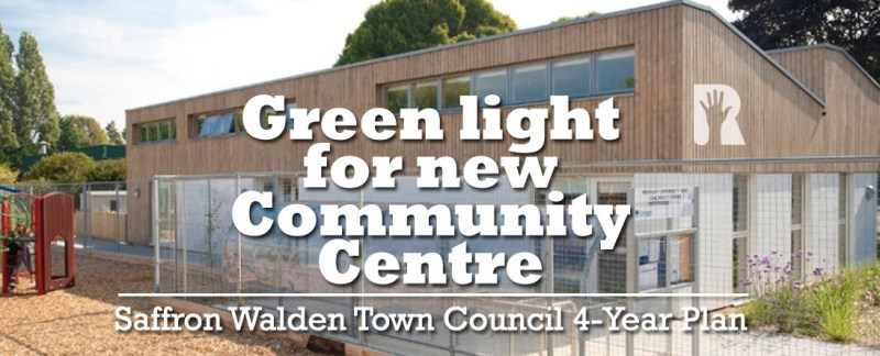 Community investment at core of new 4-year R4U plan for Saffron Walden Town Council