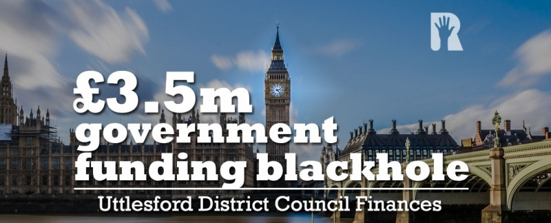 Cross-party working to solve UDC £3.5m financial hole to protect council services