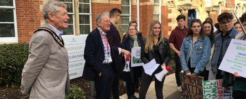 UDC calls on government for stronger powers to allow councils to act quickly on Climate Change following local youth environmental protest