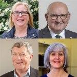 Cllrs Day, Freeman, Lees & Merifield for Sampfords Ward