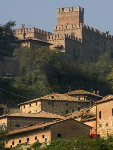 ANTICO BORGO DI TABIANO  Medieval castle Tabiano Castello Salsomaggiore Terme Parma Emilia