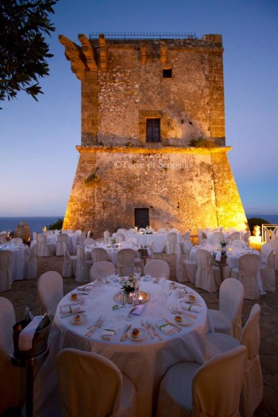 TORRE DI SCOPELLO  Residenza depoca Scopello Castellammare Del Golfo Trapani Sicilia