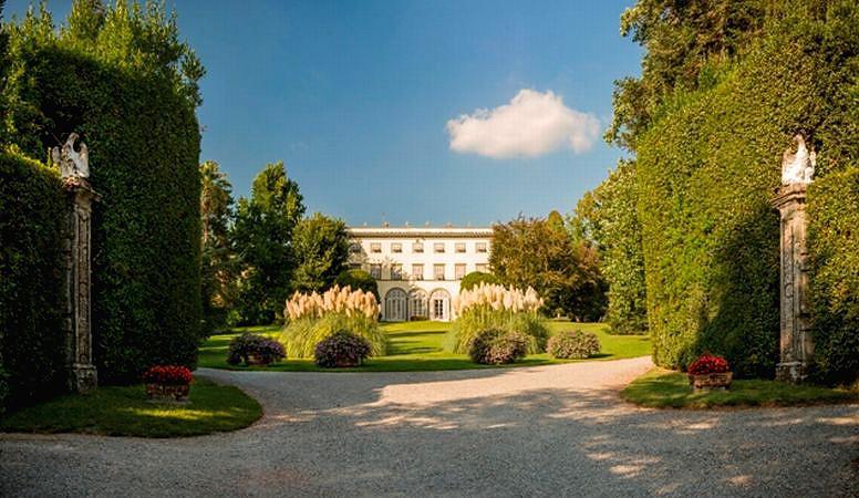 VILLA GRABAU  Historic hotel San Pancrazio Lucca Tuscany