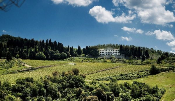 VILLA VISTARENNI Villa Gaiole in Chianti Siena Toscana
