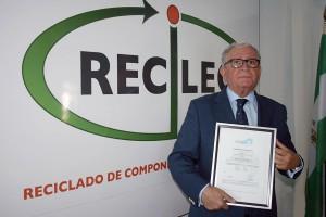 RECILEC obtiene el certificado WEEE-Labex