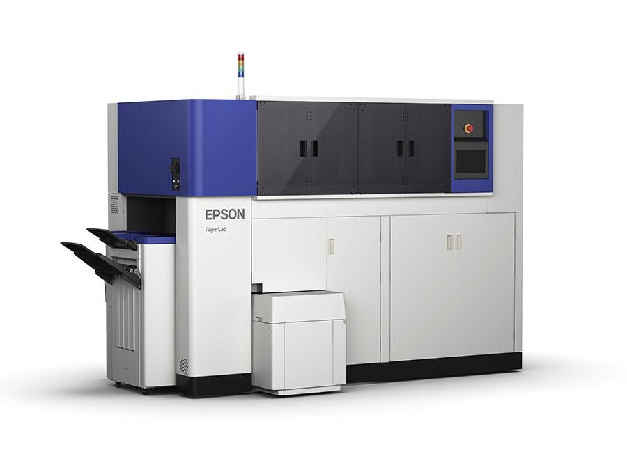 El sistema de reciclaje de papel de oficina in situ PaperLab, de Epson, llega a Europa