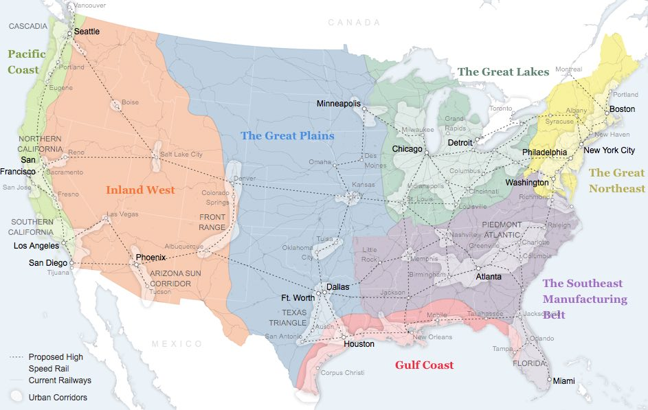 US is a nation of regions not states Resilient Investor