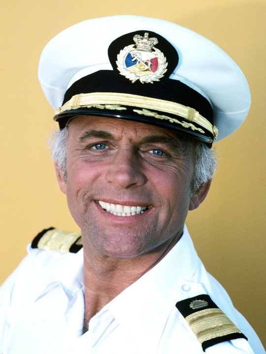 Image result for the love boat captain stubing