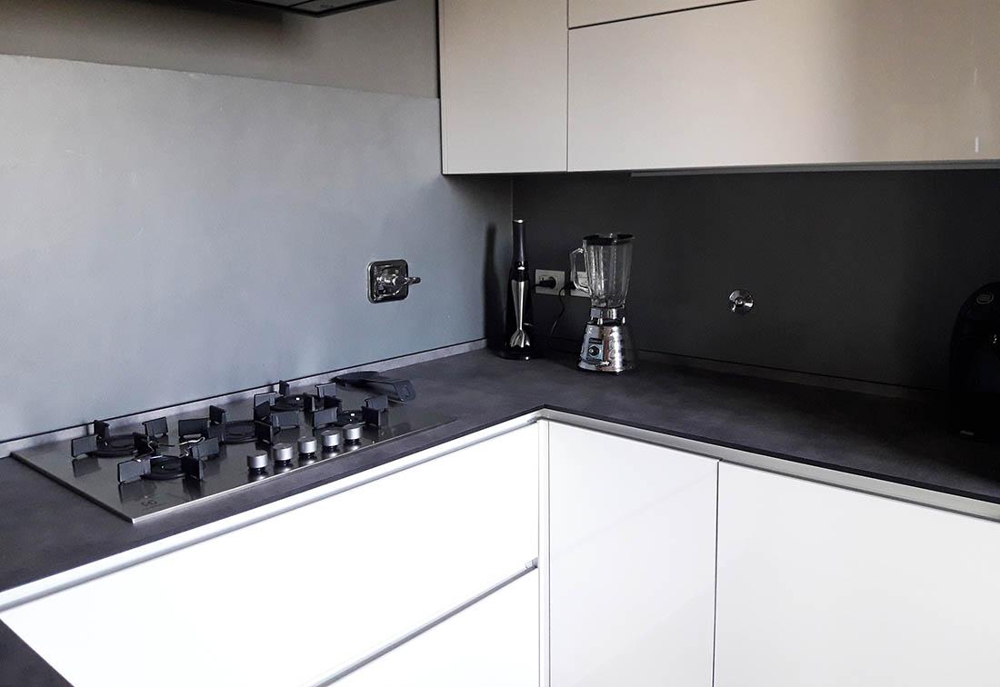 rivestimento cucina in resina