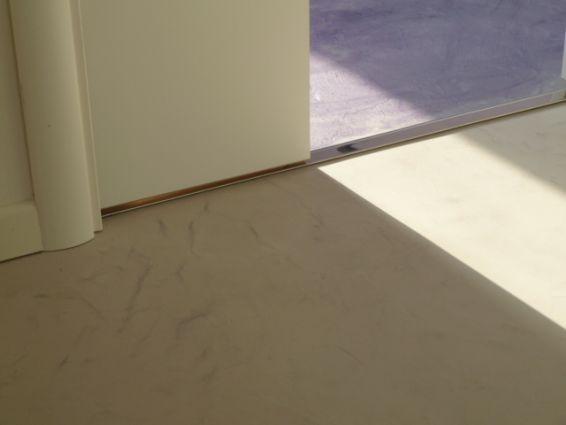 Pavimenti spatolati color tortora  Resine Design